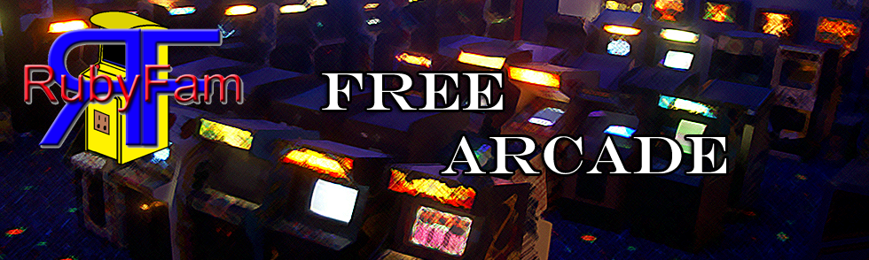 Play Online Games in the RubyFam FREE Arcade!