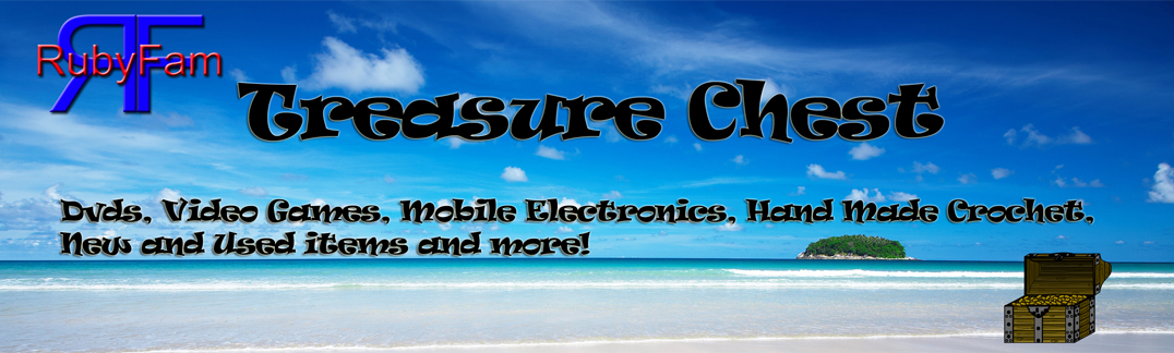 Purchase all kinds of New and Used items from the RubyFam Treasure Chest!
